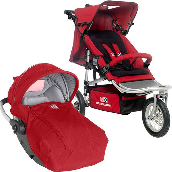 prix shop 39 n jogg red castle poussette 3 roues. Black Bedroom Furniture Sets. Home Design Ideas