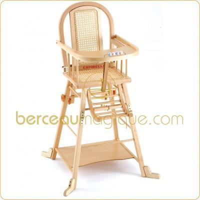 Chaise Transformable COMBELLE, Chaise Haute, prix le moins cher