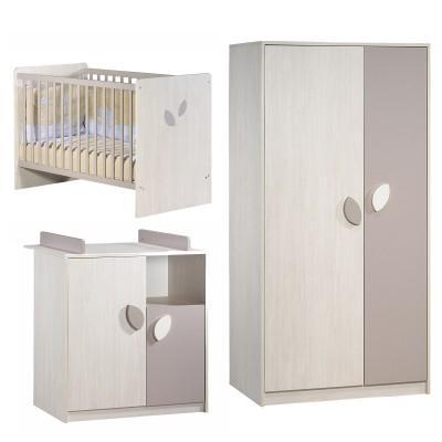 chambre leaf sauthon lit bebe prix. Black Bedroom Furniture Sets. Home Design Ideas