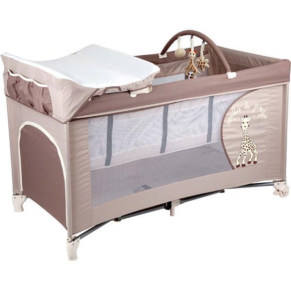 lit sophie la girafe renolux lit parapluie prix. Black Bedroom Furniture Sets. Home Design Ideas